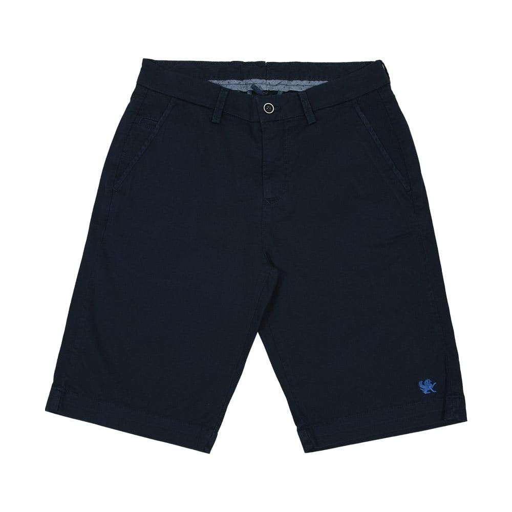 Bermuda Sarja Azul Marinho