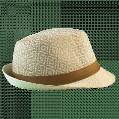 CHAPÉU PANAMÁ MARROM