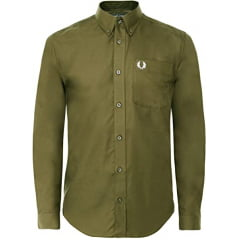 CAMISA FRED PERRY VERDE